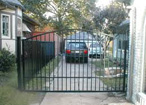 install dual swing gate openers in Houston, Baytown, Texas