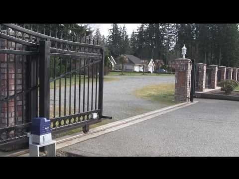 Installed Gate Openers And Gate Access Control Systems In